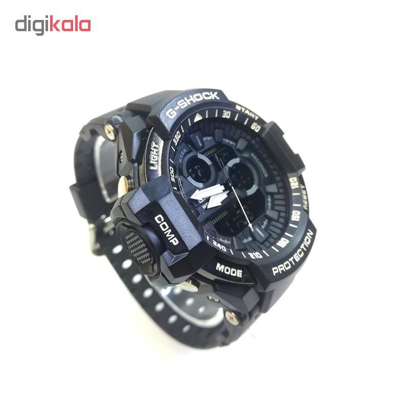 خرید ساعت مچی عقربه ای مردانه مدل GSH-201