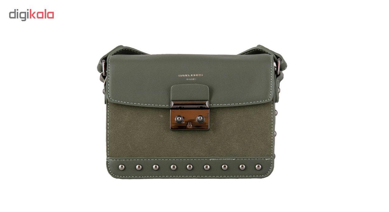 کیف رو دوشی زنانه دیوید جونز مدل 2-5811