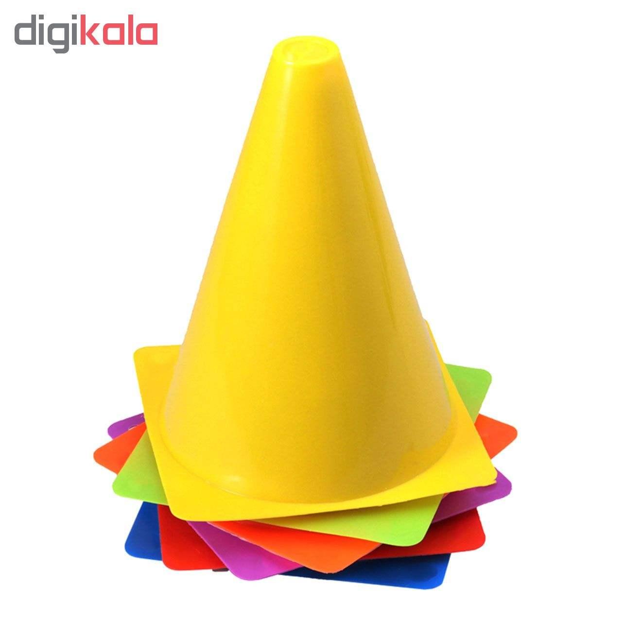 مانع تمرین مدل Training Cones 2020 در 5 رنگ مجموعه 15 عددی به همراه پاوربالانس main 1 1