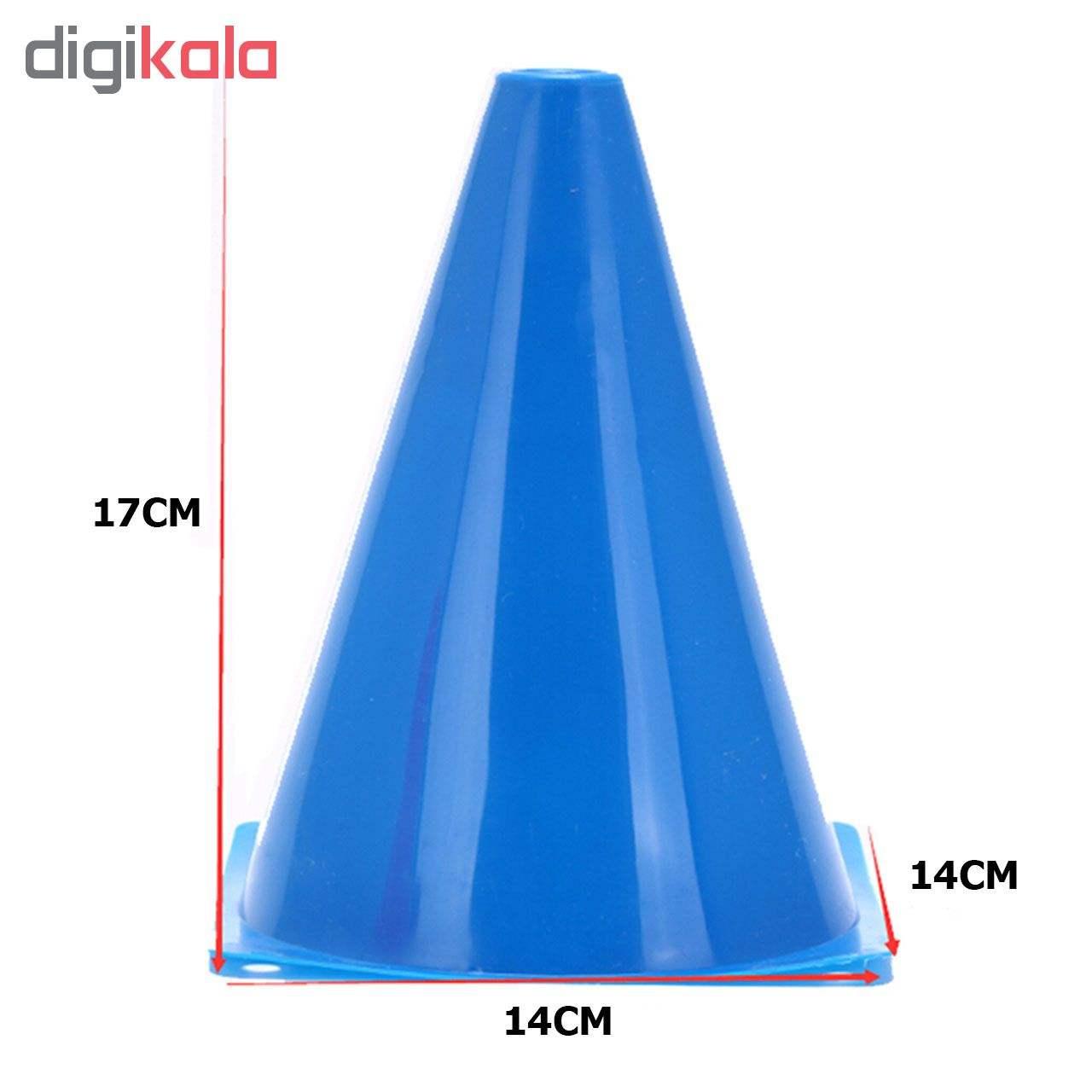 مانع تمرین مدل Training Cones 2020 در 5 رنگ مجموعه 15 عددی به همراه پاوربالانس main 1 2
