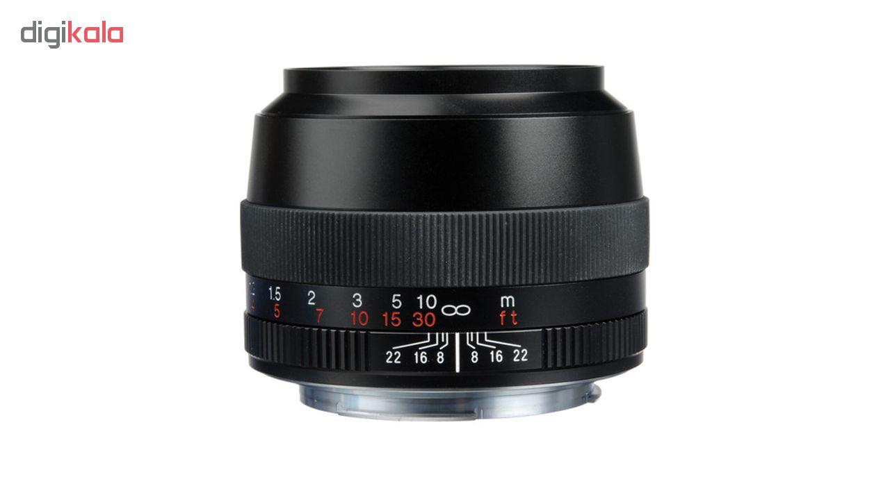 لنز دوربین فوخلندر مدل 90mm F/3.5 SL II مناسب برای دوربین کانن