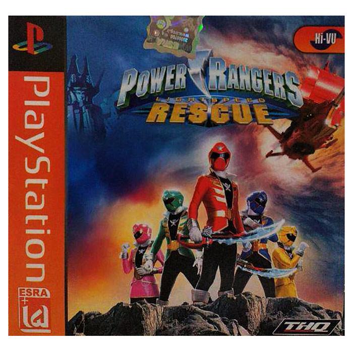 بازی Power Rangers مخصوص ps1