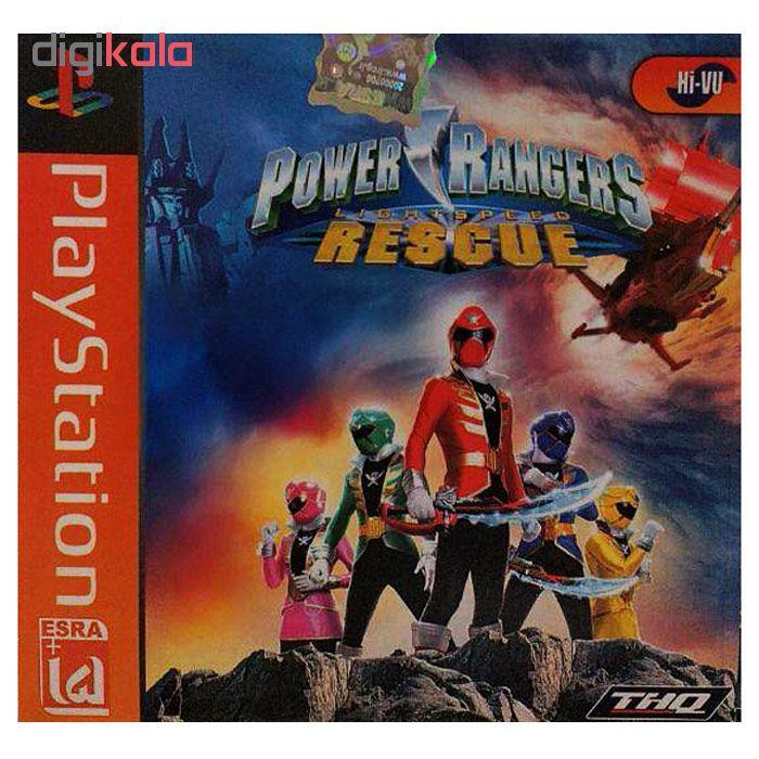 خرید اینترنتی بازی Power Rangers مخصوص ps1 اورجینال