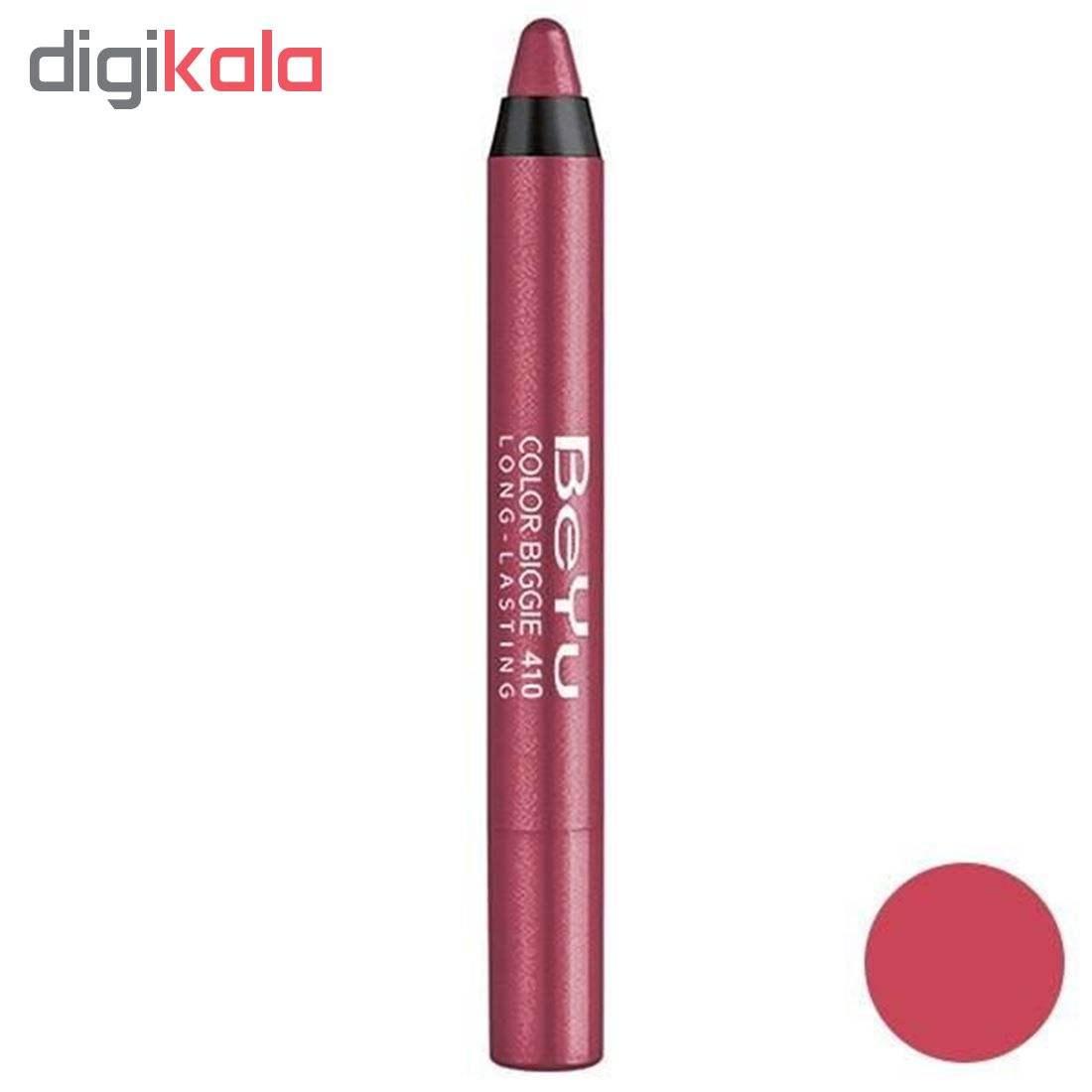 رژ لب مدادی بی یو مدل Color Biggie 410 main 1 1