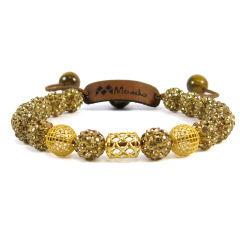 دستبند طلا ۱۸عیار مانچو مدل bfg128