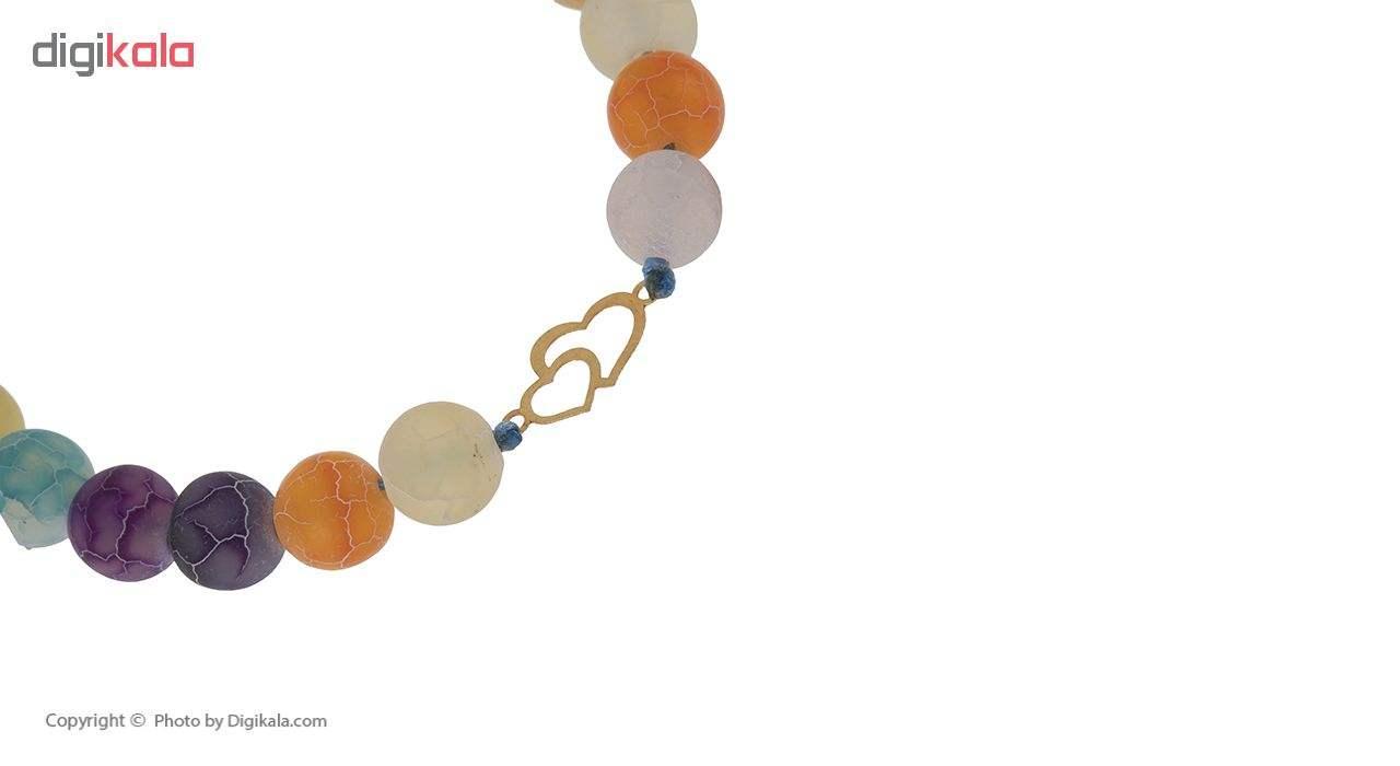 دستبند طلا 18 عیار زنانه مدل G3224 -  - 4