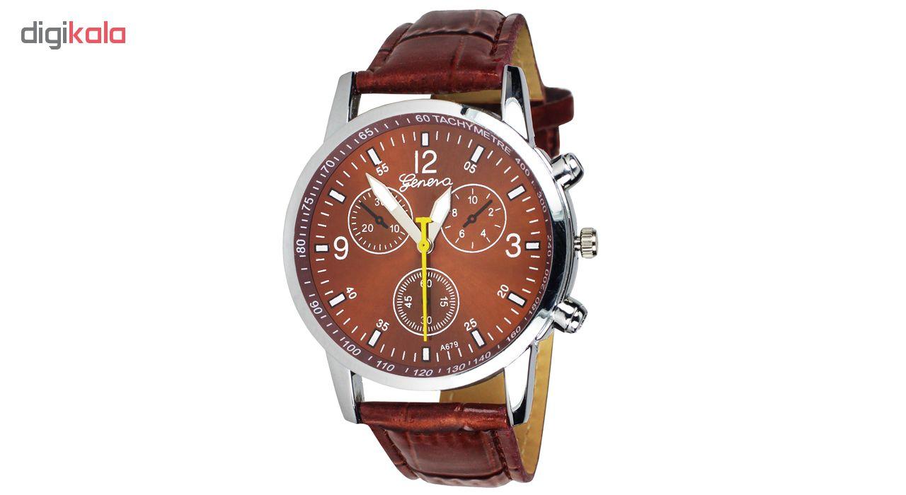 خرید ساعت مچی عقربه ای مردانه و زنانه جنوا مدل M-05 | ساعت مچی