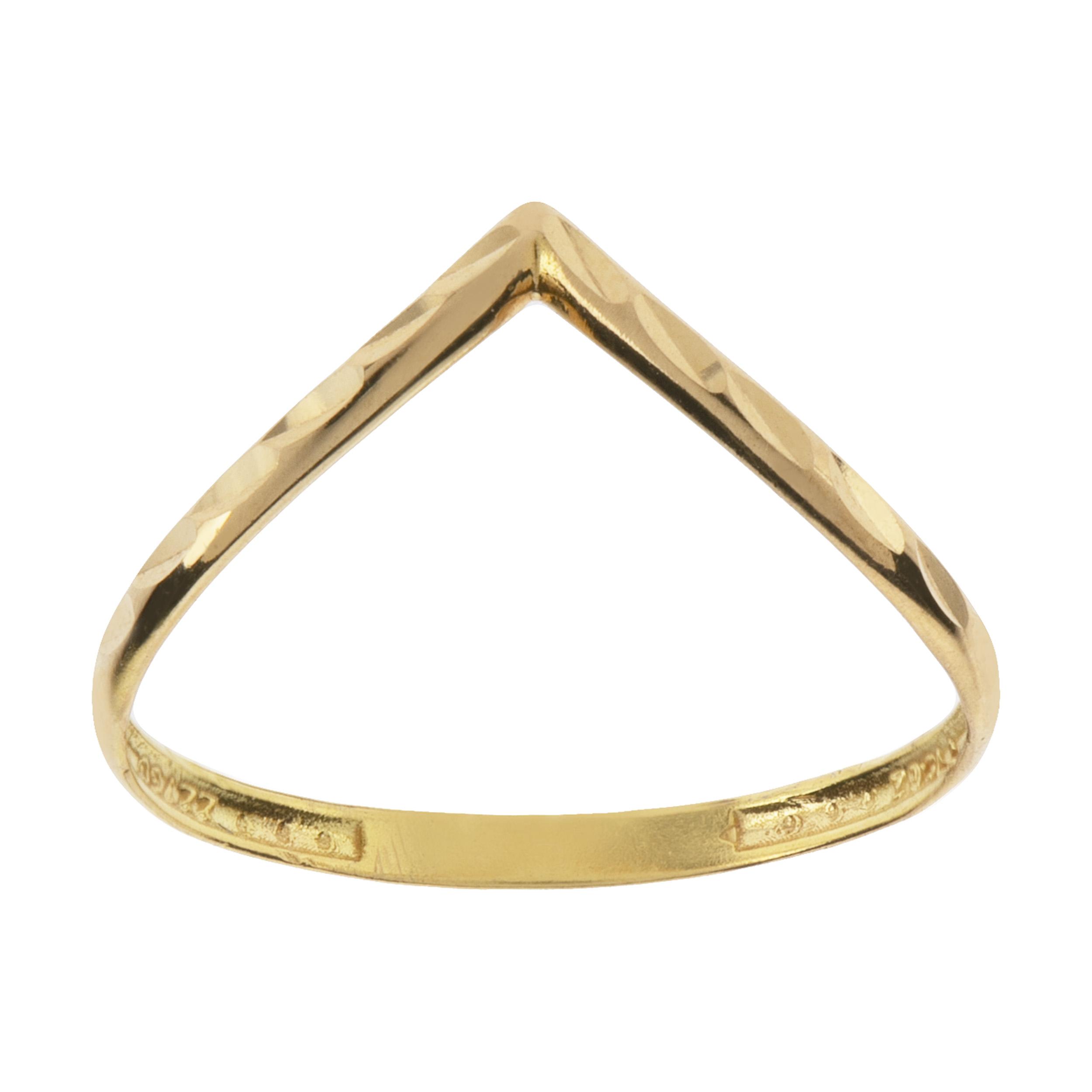 انگشتر طلا 18 عیار گیرا گالری مدل R8