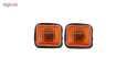 چراغ گلگیر خودرو مدل P-06 مناسب برای پژو 405 بسته 2 عددی thumb 1