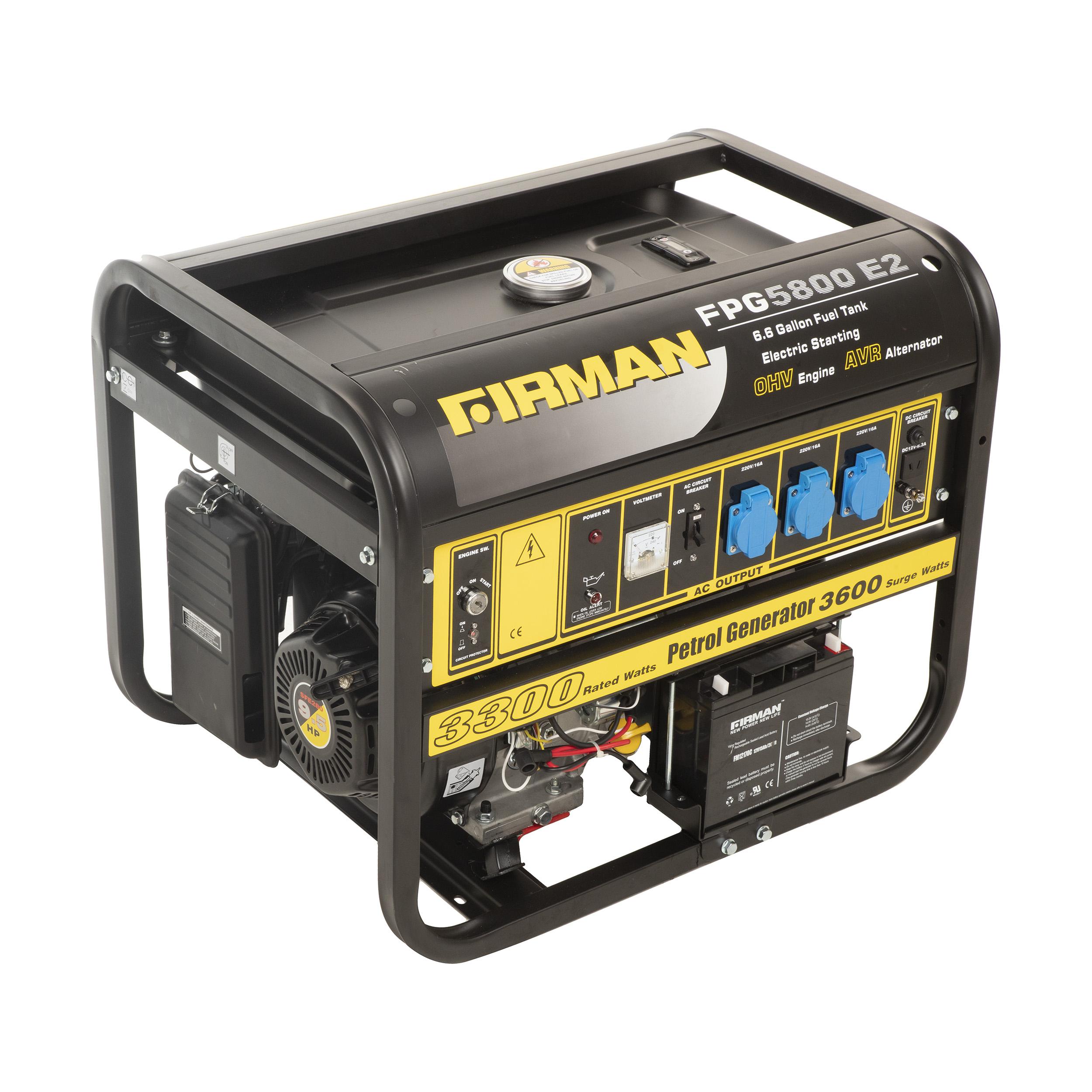 موتور برق فیرمن مدل FPG5800E2