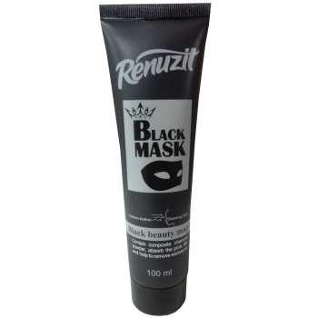 ماسک صورت رینوزیت مدل  Black mask carbon active حجم 100 میلی لیتر thumb
