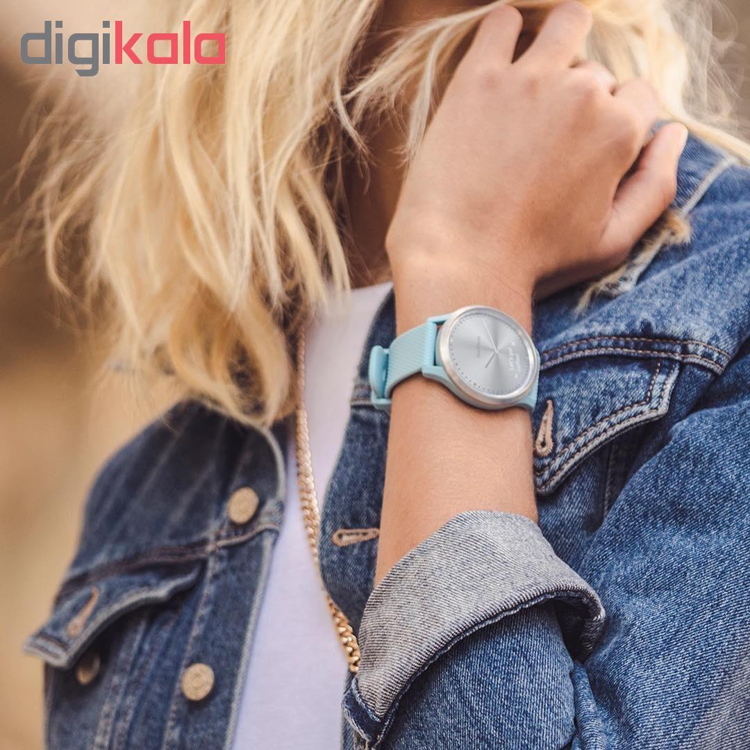 ساعت هوشمند گارمین مدل vivomove HR  with Slate Hardware