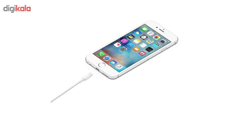 کابل تبدیل USB به لایتنینگ اپل طول 1 متر thumb 1