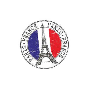 استیکر لپ تاپ  طرح Paris کد 02