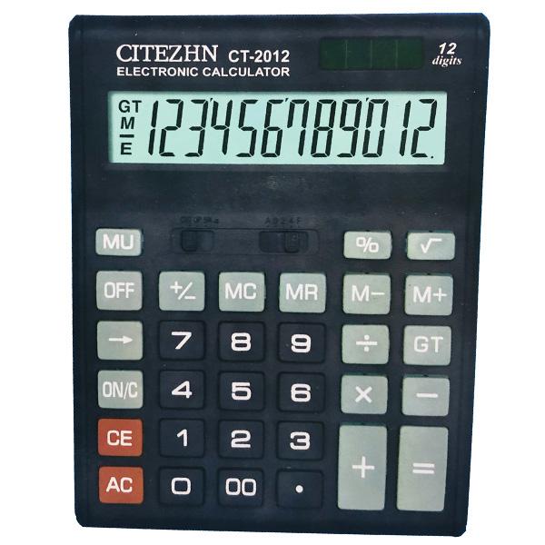 قیمت                      ماشین حساب سیتیژن مدل CT-2012