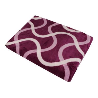 تصویر پتو مدل Purple stripr سایز 160×216