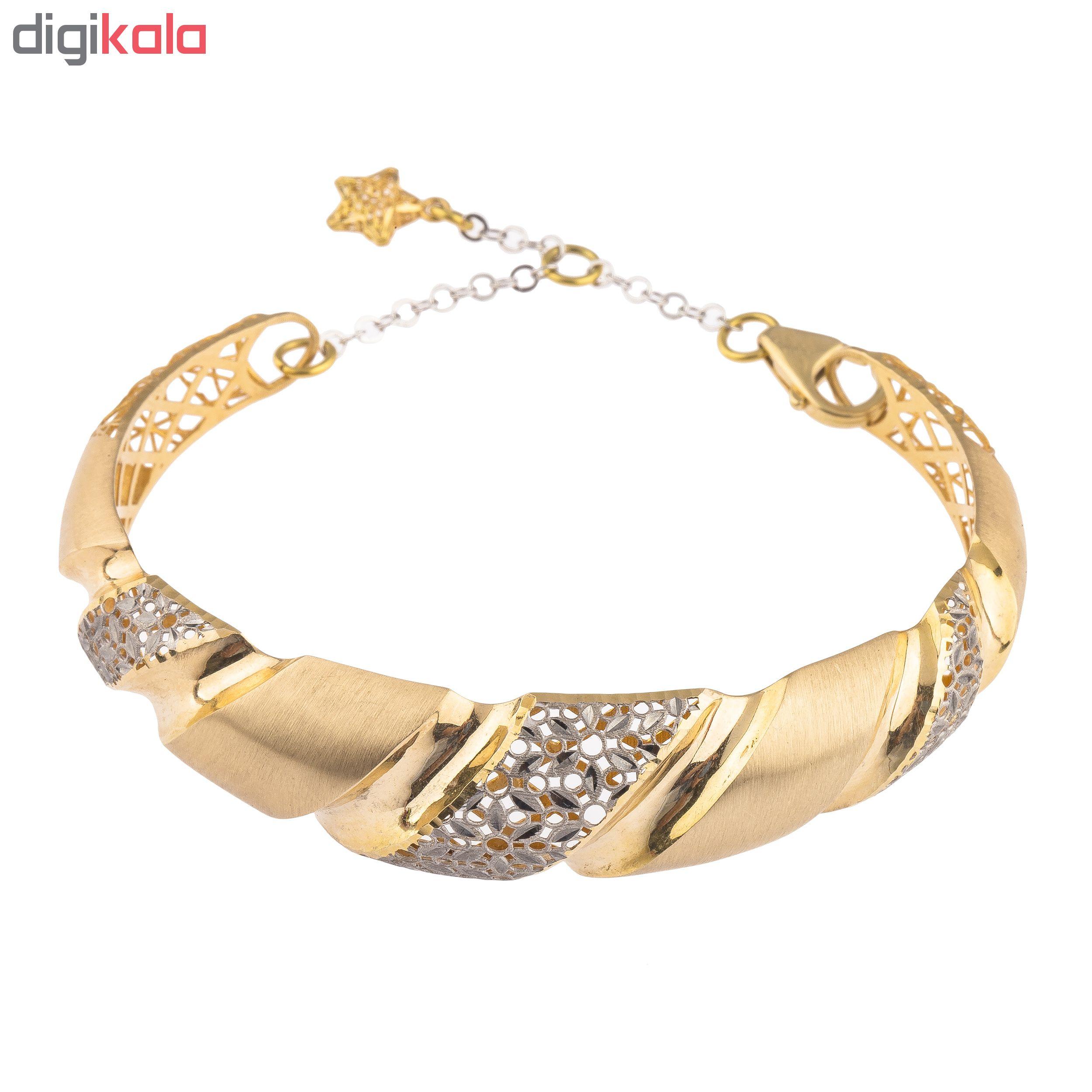 دستبند طلا 18عیار زنانه کد 230