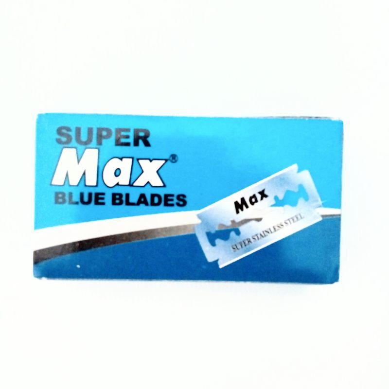 تیغ یدک اصلاح سنتی سوپر مکس مدل SUPER PLATINUM بسته ۱۰ عددی