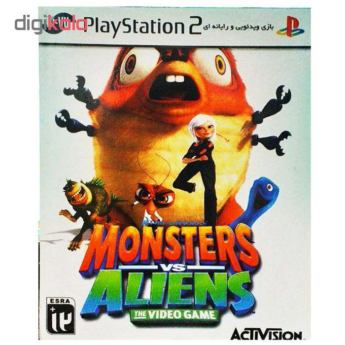 بازی Monsters vs Aliens مخصوص ps2