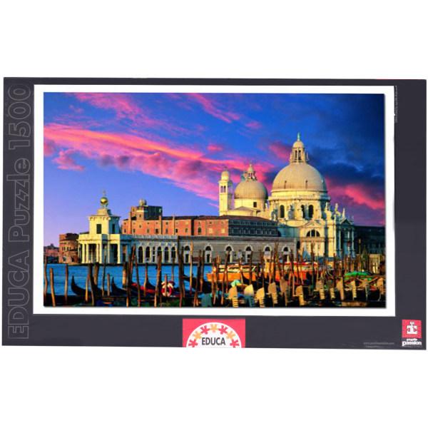 پازل 1500 تکه ادوکا مدل 8416 Salute,Venice,Italy