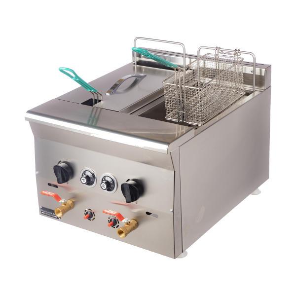 سرخ کن صنعتی رومیزی مطبخ آرا مدل B05