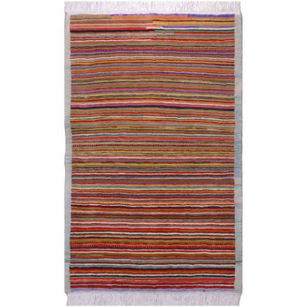 فرش دستبافت یک و نیم متری فرش هريس کد 101145
