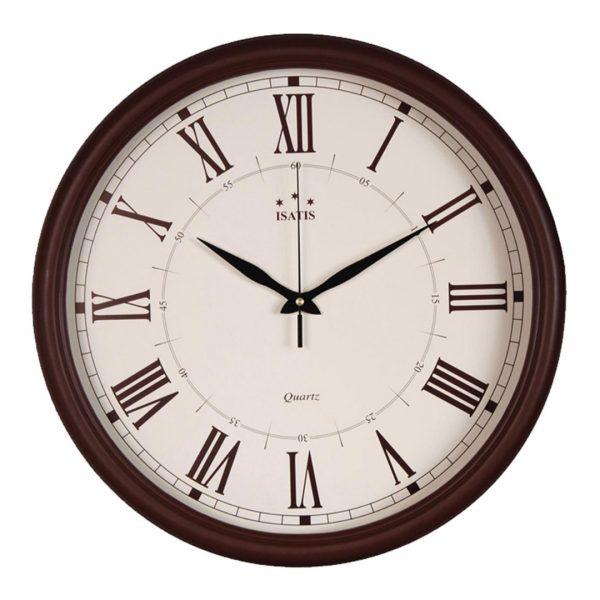 ساعت دیواری ایساتیس به همراه هدیه سرسوئیچی ویکتوریا