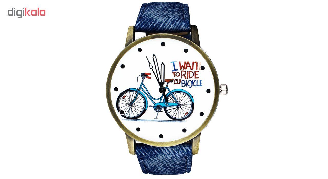 ساعت مچی عقربه ای زنانه مدل Bicycle-01              خرید (⭐️⭐️⭐️)