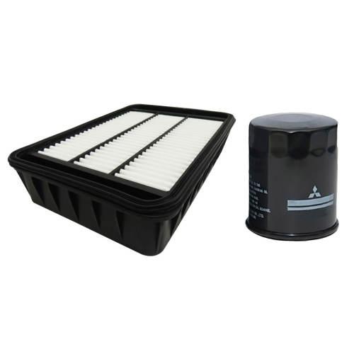 فیلتر روغن خودرو میتسوبیشی مدل ASX مناسب برای میتسوبیشی ASX به همراه فیلتر هوا