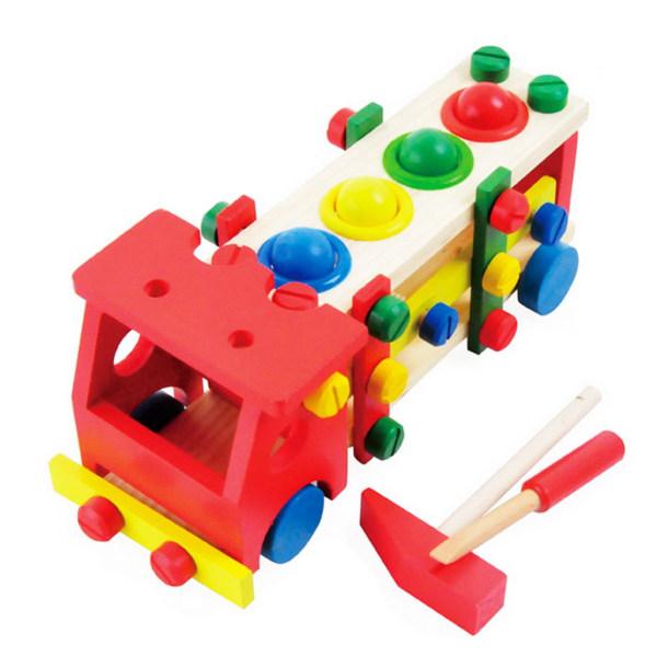 ساختنی طرح کامیون مدل Reassembly Screw Car