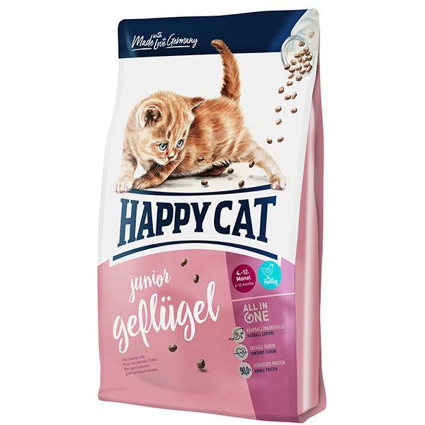 غذای خشک گربه هپی کت مدل JuniorGef01 وزن 10 کیلوگرم