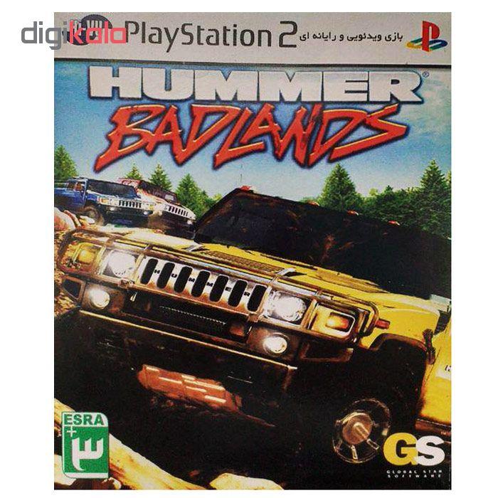 خرید اینترنتی بازی Hummer Badlands مخصوص ps2 اورجینال