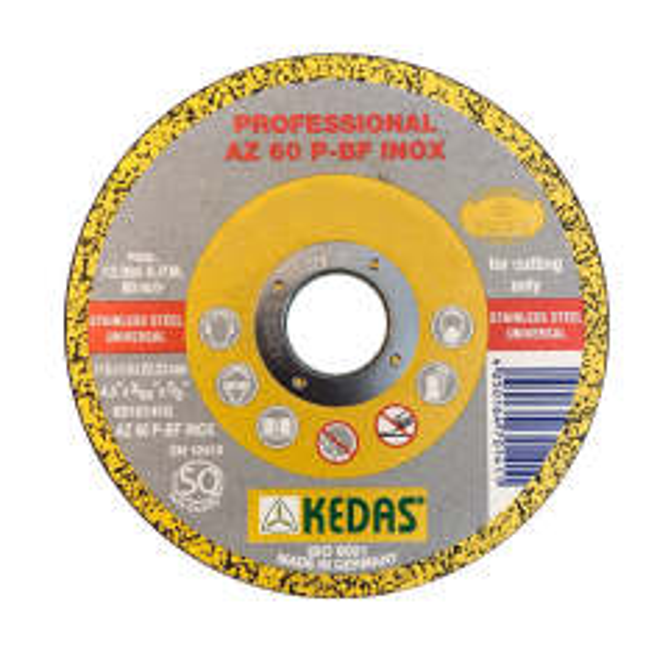 مجموعه 50 عددی صفحه سنگ برش مینی استیل كداس آلمان KEDAS مدل 10072