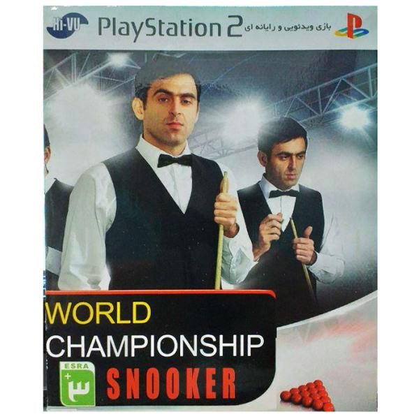 بازی World Championship Snooker مخصوص ps2