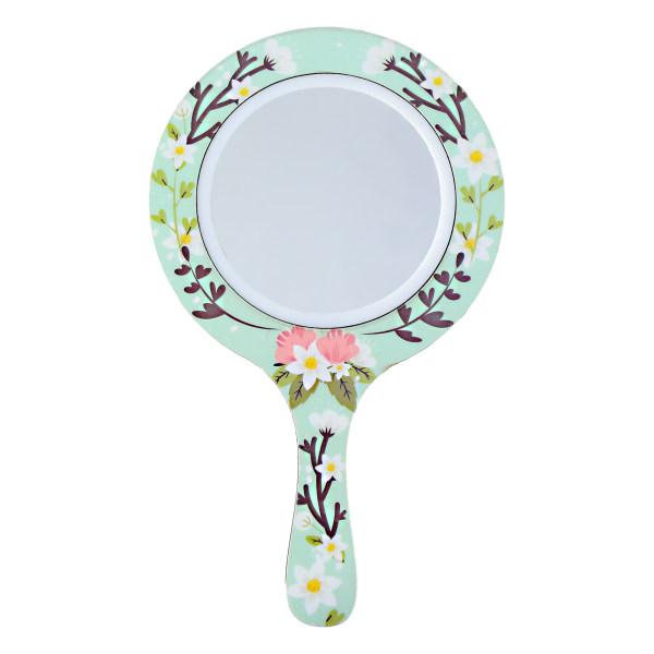 آینه آرایشی پرسناژ طرح گل مدل M01