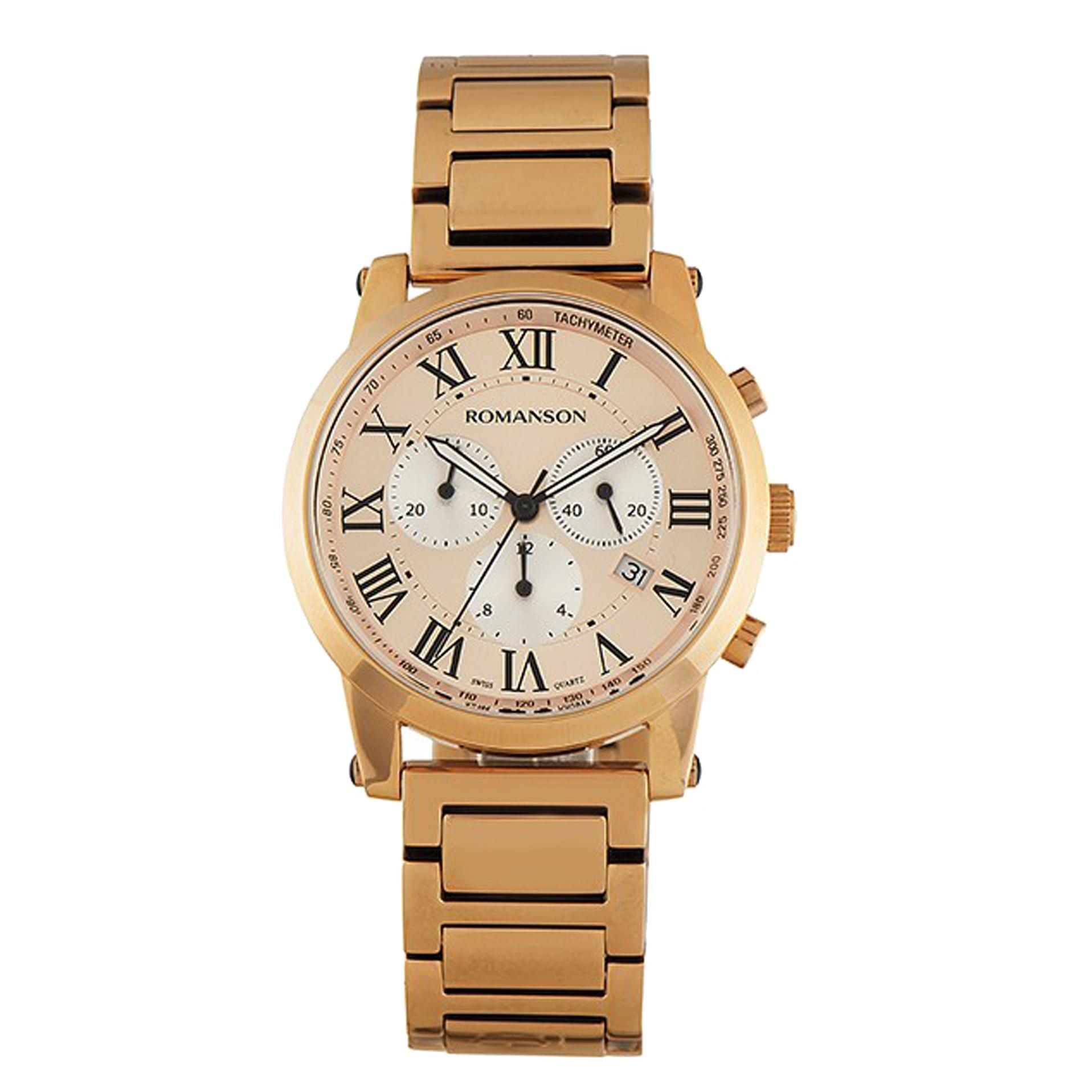ساعت مچی عقربه ای مردانه رومانسون مدل TM0334MM1RBC5B
