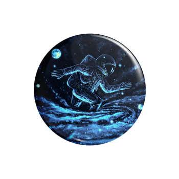پیکسل ماسا دیزاین طرح ورزشی دونده فضانورد سیاره ابر کد AS573