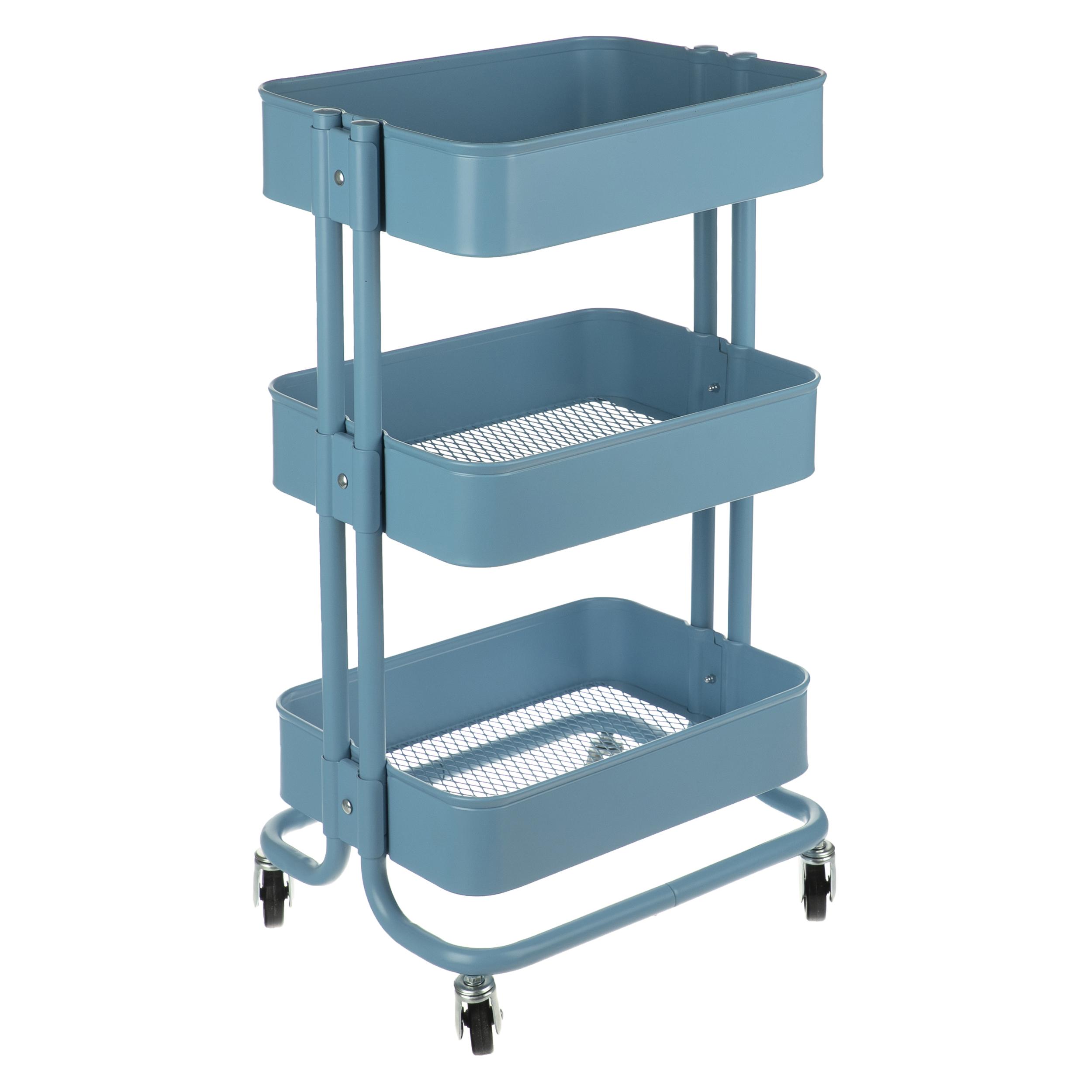 سبد چرخدار - ترولی - خانه و آشپزخانه طرح IKEA RASKOG