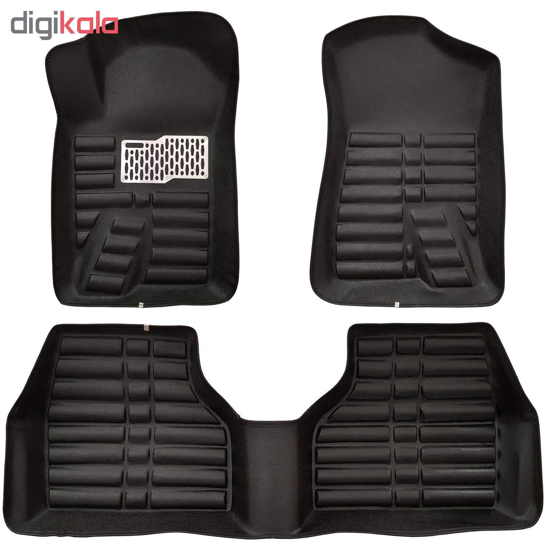 کفپوش سه بعدی خودرو ( پلی اورتان ) مناسب برای پژو 405 و سمند thumb 1