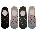 جوراب زنانه طرح قلب مجموعه 4 عددی thumb