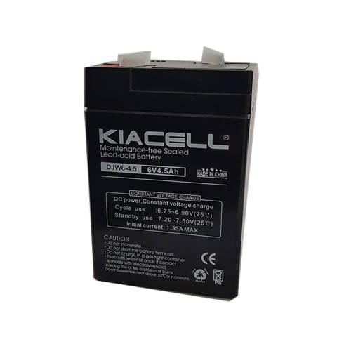 باتری سیلد اسید کیاسل مدل DJW6-4.5 ظرفیت 4.5 میلی آمپر