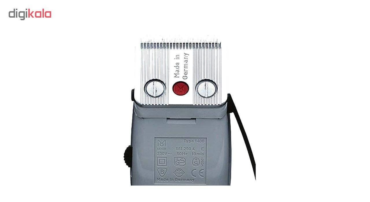 ماشین اصلاح سر و صورت  مدل 0050-1400 به همراه ست شانه 6 عددی main 1 1