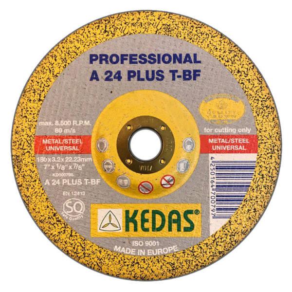 مجموعه 10 عددی صفحه برش آهن کداس KEDAS مدل KD-00079