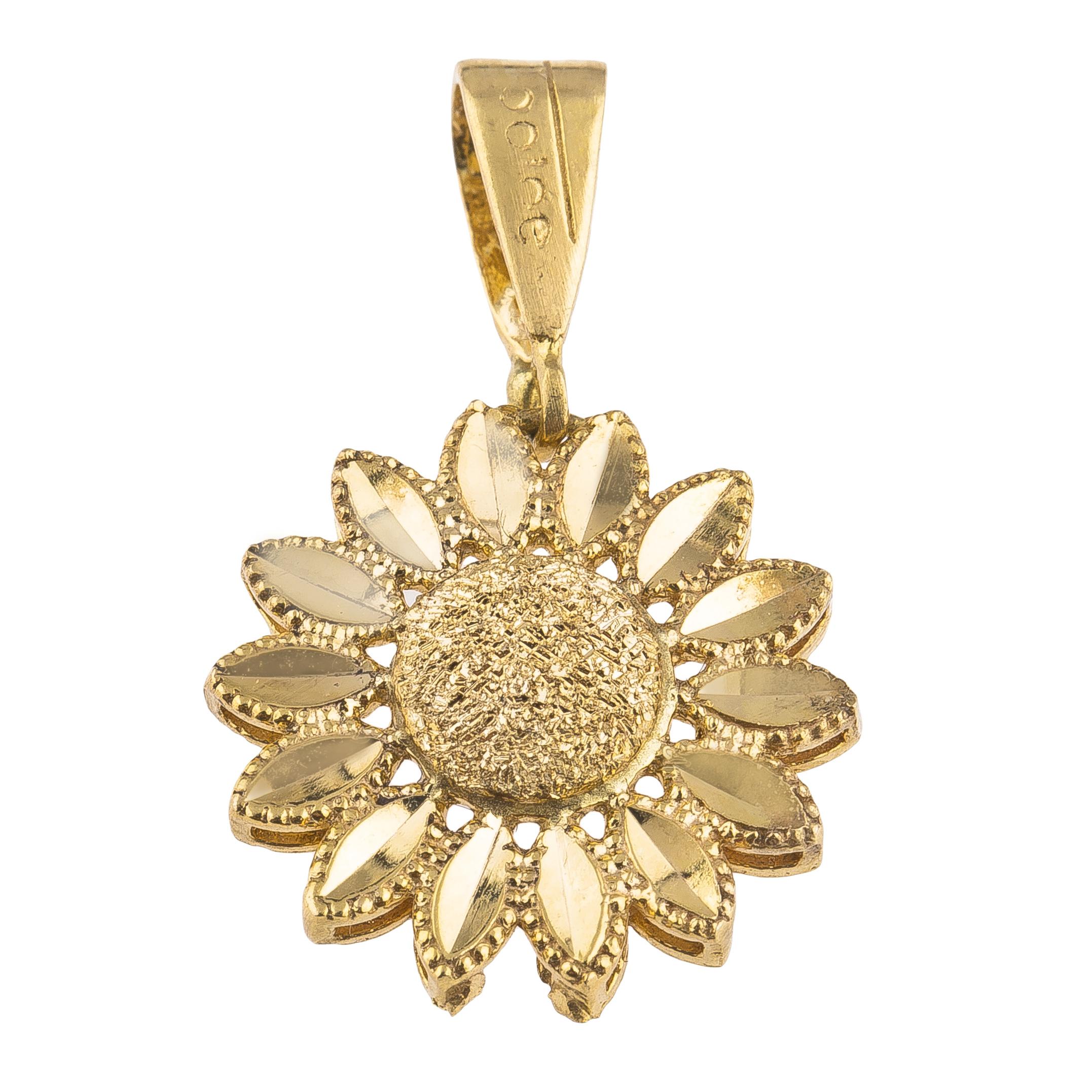 خرید آویز گردنبند طلا 18 عیار زنانه کد p117