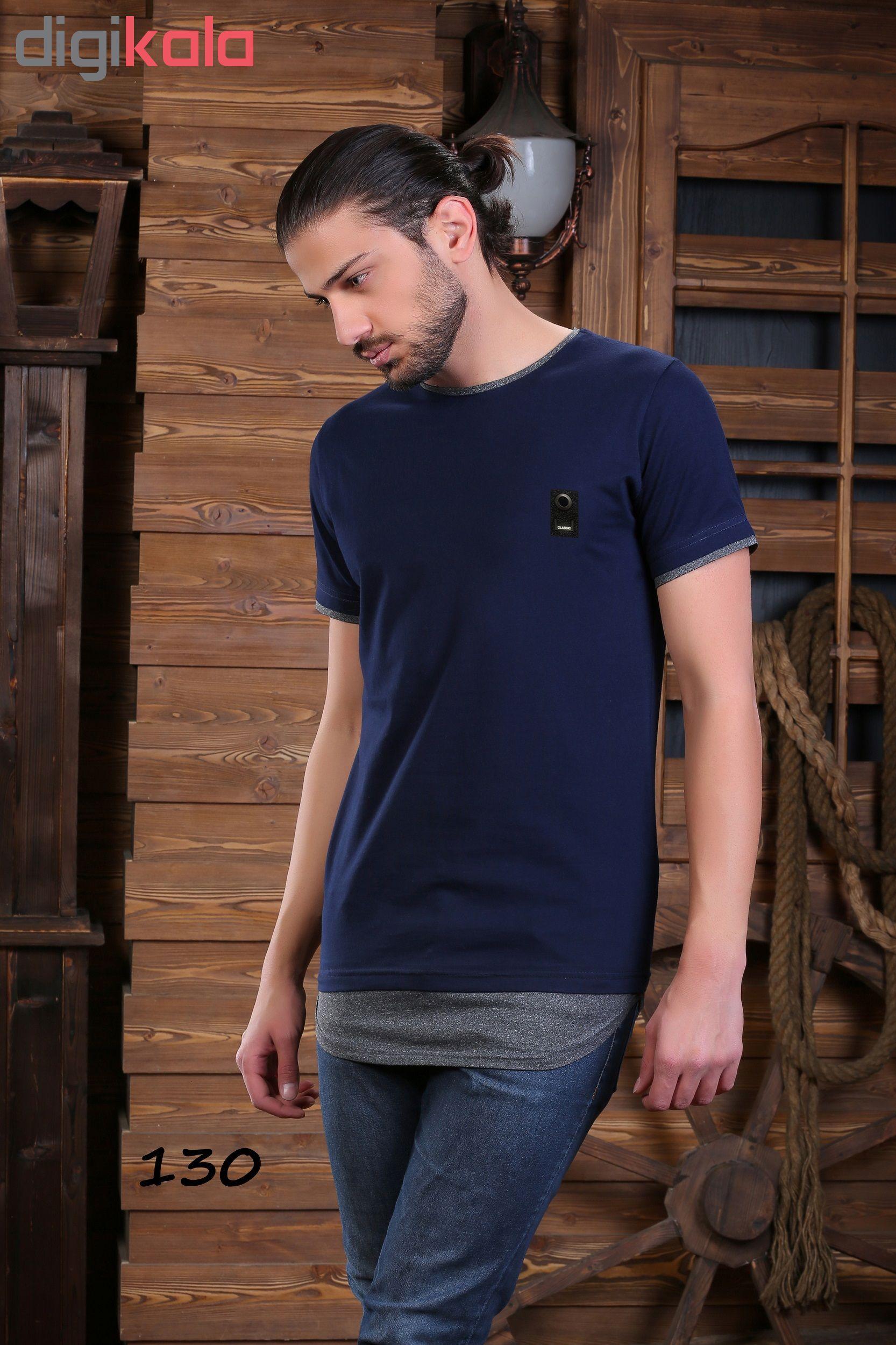 تی شرت آستین کوتاه مردانه تارکان کد 172-4