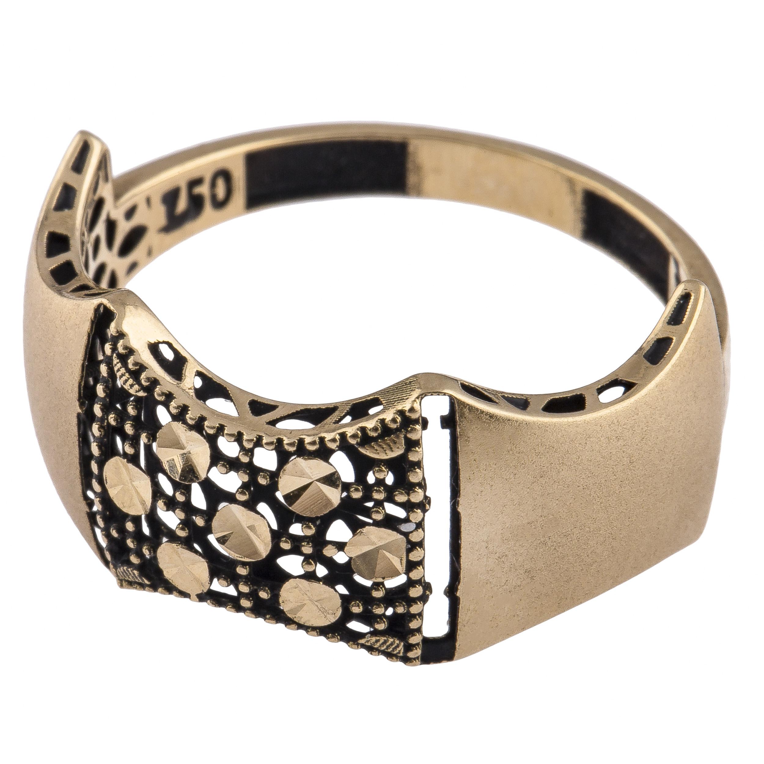 قیمت انگشتر طلا 18 عیار زنانه کد R113