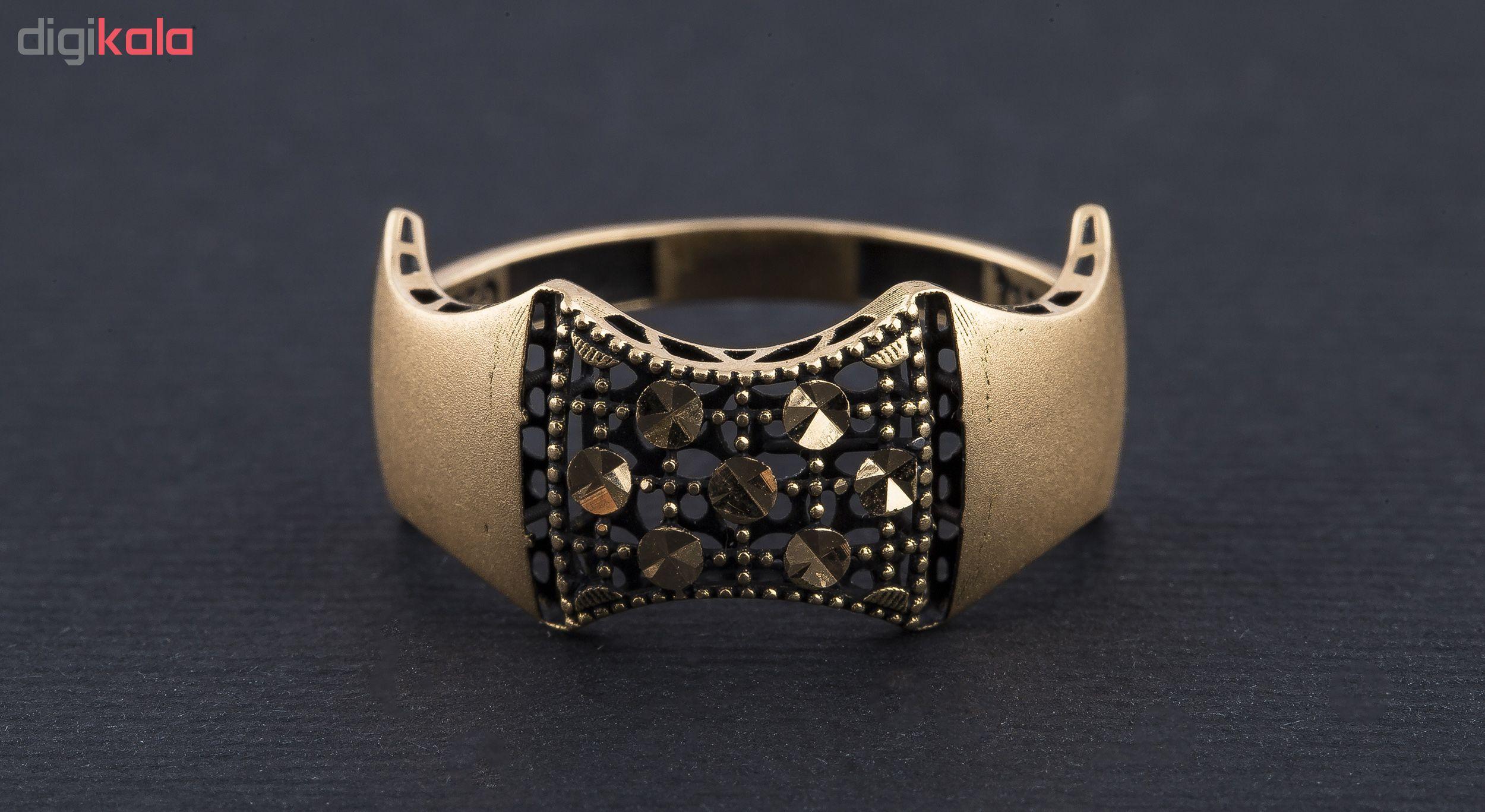 انگشتر طلا 18 عیار زنانه کد R113