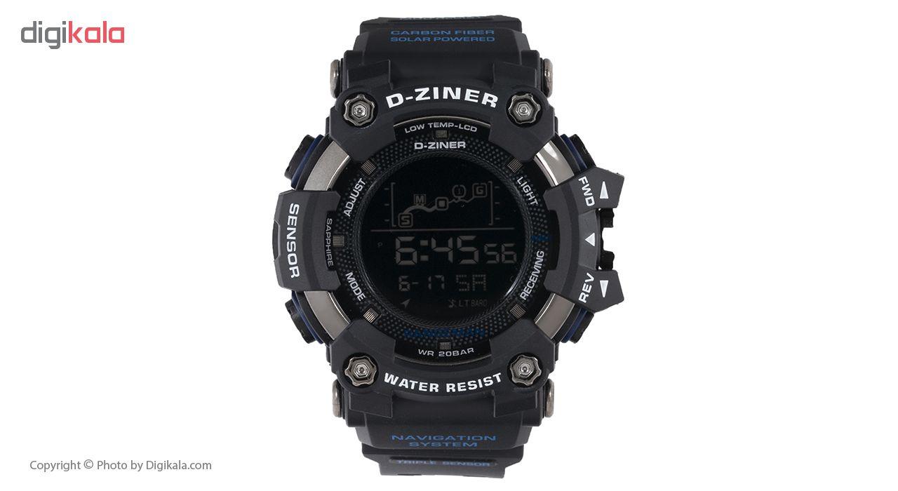 خرید ساعت مچی دیجیتال مردانه دیزاینر مدل D-Z7025