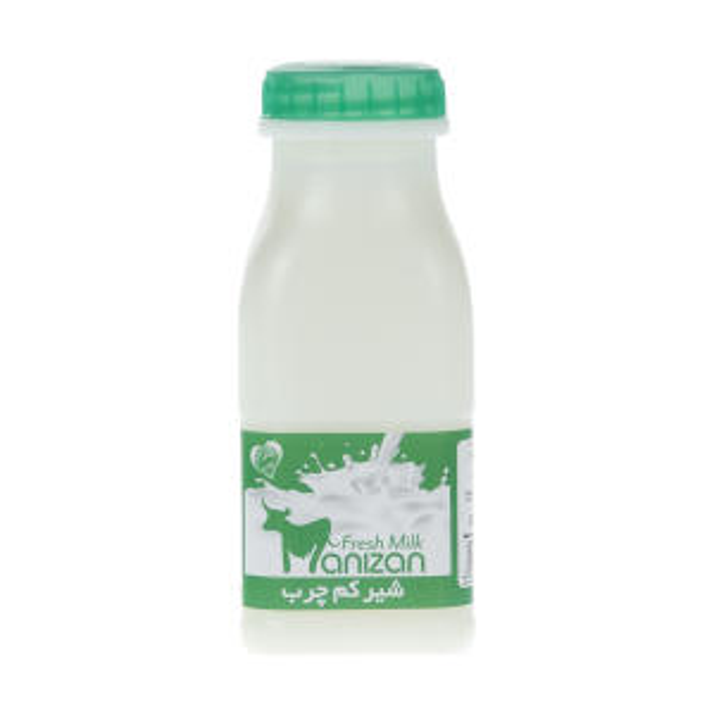 شیر کم چرب مانیزان حجم 230 میلی لیتر