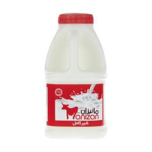 شیر کامل مانیزان حجم 500 میلی لیتر